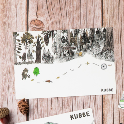 KUBBEポストカードF