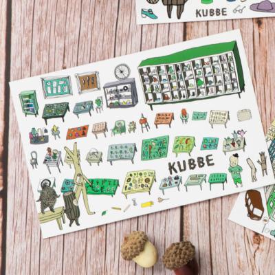 KUBBEポストカードS